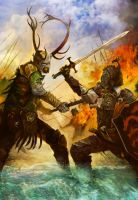 Battle of the Trident (Revised) by arankin
