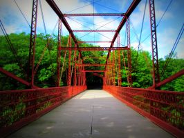 The Red Iron Crossing II by RealityIntolerant