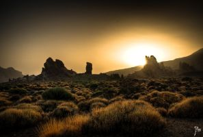 Teide's sunset....Tenerife by JMicas