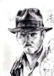 Indiana Jones - Unfinished by TheDrawingAlchemist