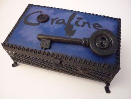 Coraline Jewelry Box by ThisisHalloweenTown