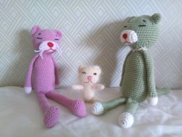 The Pink Panther family by QuyNami