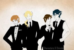 As Long as I've got my Suit and Tie by Onivale