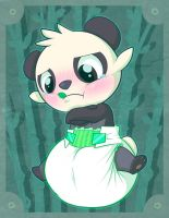 Pancham is Unable to Move! by Hourglass-Sands