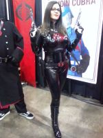Baroness with Cutlass by DarkSamuraiX1999