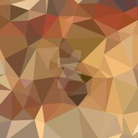 Camel Brown Abstract Low Polygon Background by apatrimonio