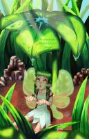 Green valley Earth fairy by Miau-nya