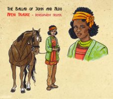 Character Sheet Afeni Traore by DianaKennedy