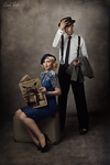 vintage couple No.1 by snottling1