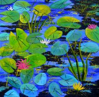 Waterlilies 8861 by pledent