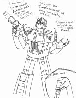 Grimlock's Perspective by SuperiorWave