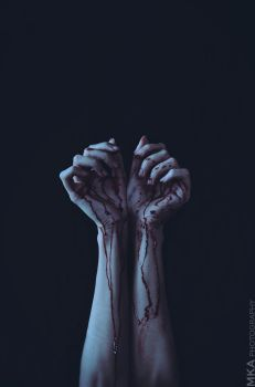 Stained Hands by MKAphotography