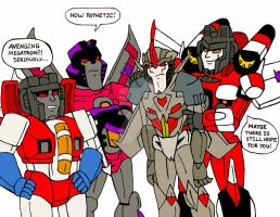 Starscream Brothers: Avenging Megatron by xero87
