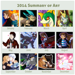 2014 Summary of Art by captainsparx