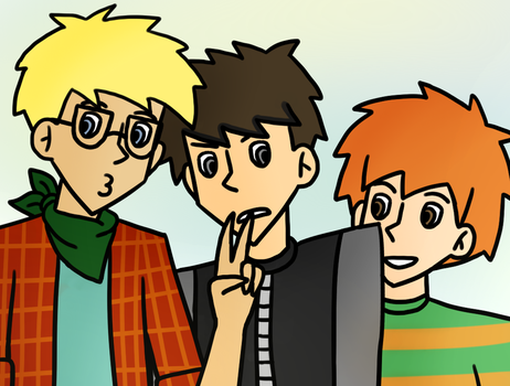 Selfie with the baes by KurooTsukki