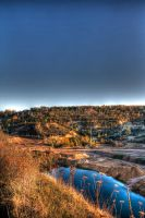 Autumn Quarry HDR by Kaldrax