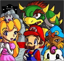 Super Mario RPG by aurorarubye4