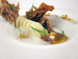Alinea Application Menu Course 9 - Banana by TheSilverChef