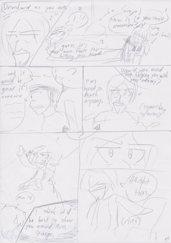 Unnamed Comic Page 11 Rough Draft by C-Survive