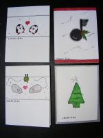 Christmas Charity Cards 2011 by KellyGirl1