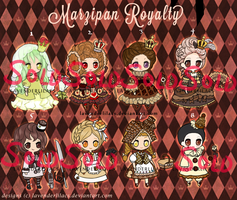 Marzipan Royalty: Adopt Auction : CLOSED by lavenly