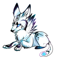 Baby Galaxy Wolf Auction -IN PAYMENT- by Butt-adopts