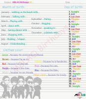 MBLAQ Birthdays by Zakher