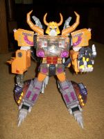 Unicron and deadend by blackout17