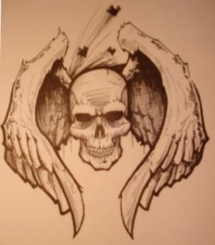Dying Skull by FordTruckKY87