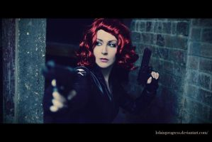 Avengers : Black Widow : Red Ledger by LolaInProgress