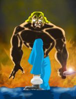 Brock Samson by WolfGriffin
