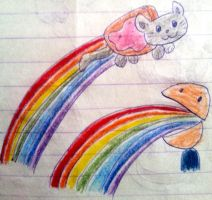 'OLD 2011' Double rainbow by ClassicsAreDEAD