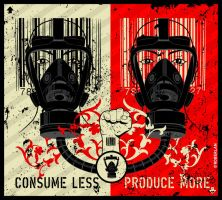 Consume less Produce more by roberlan