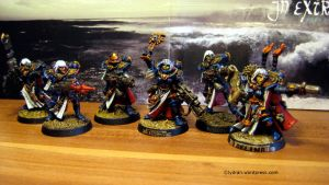 Adepta Sororitas with canoness by Dranei