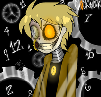 My brothers new look for our OC Clockwork by Pirate-Fangz