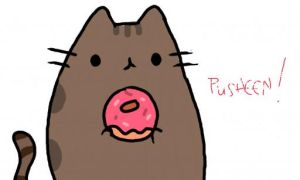 Pusheen by 1-upFlipnote