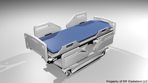 Hospital Bed by Azorea