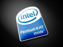 Intel Pentium 4 HT Wallpaper by blackevilweredragon