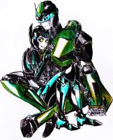 .:PC:. Nightbeat and Aero by Micelux