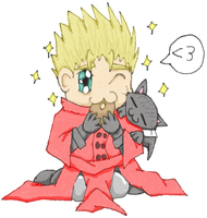 Vash Loves Donuts by ShikaTheFox