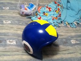 Box Art Megaman Helmet COMPLETED by BigAl2k6