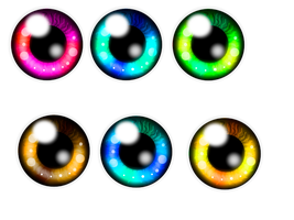 eye practice in SAI :D by Rainbow-Artist-OwO