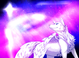 Galaxies by xShiro-no-Musumex
