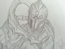 The Didact: Halo 4 by Drawception
