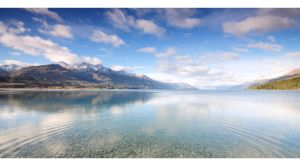 Lake Wakatipu from Kinloch. by pmd1138