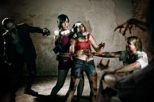 Zombie shield. Resident Evil by Narga-Lifestream