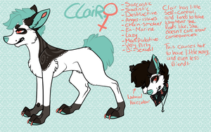 Clair refsheet by Keesness