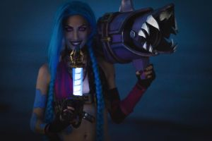 Jinx League of Legends cosplay by MissHatred by JessicaMissHatred