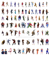 street fighter characters by reinfall