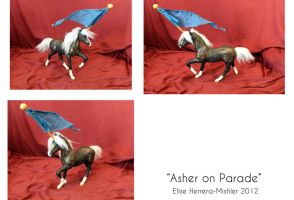 Asher On Parade by MiiruFae